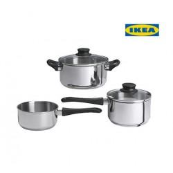 02.17casserole ensemble 3pieces IKEA
