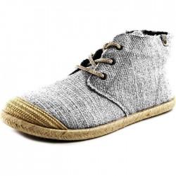 chaussure Basket toile Roxy Flamenco gris noir