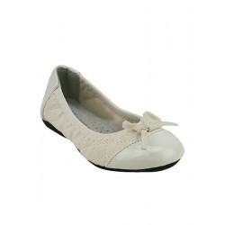 ballerine blanche LIBRA POP