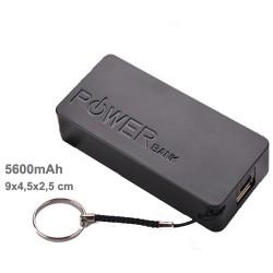 powerbank 5600 mAh noir