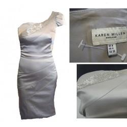 robe gris KAREN MILLEN