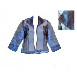 veste soiree bleu ALEX