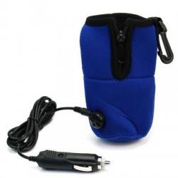 chauffe biberon de voiture bleu