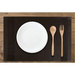 set dessous d'assiette pvc rectangulaire