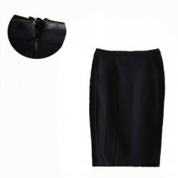 jupe crayon mi-long noir TARGET collection