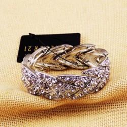 bracelet argentee a motif F21