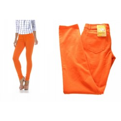 pantalon fluo orange LOVE STWEET