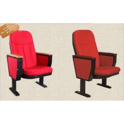 B2B fauteuil auditorium pliable rouge