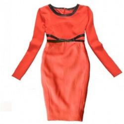 robe rouge LA BASIQUE