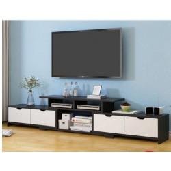 Meuble TV  4 tiroir 2 tons  NOUVEAU MODELE