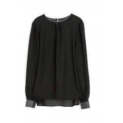 blouse noir ESTHER W