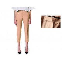 pantalon classique beige fermeture ZARA