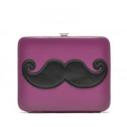 pochette xhilaration mini moustache