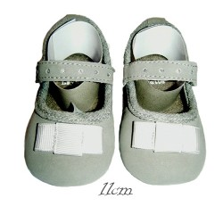 chaussure bebe baby gris