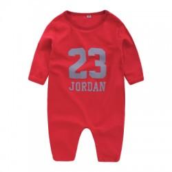 grenouillere a motif Air Jordan 23 rouge